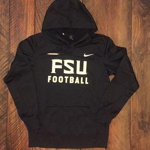 EUC Nike FSU dri-fit hoodie sweatshirt